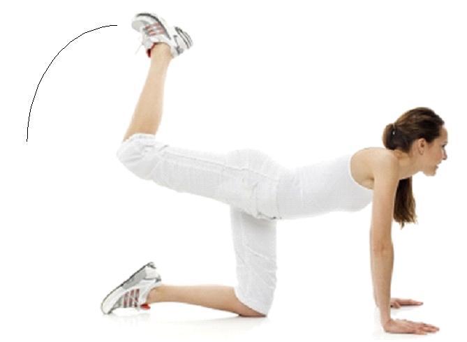 Exercice fessier facile