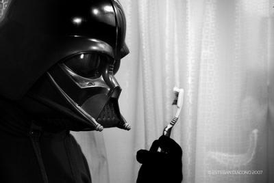 Dark vador dentifrice