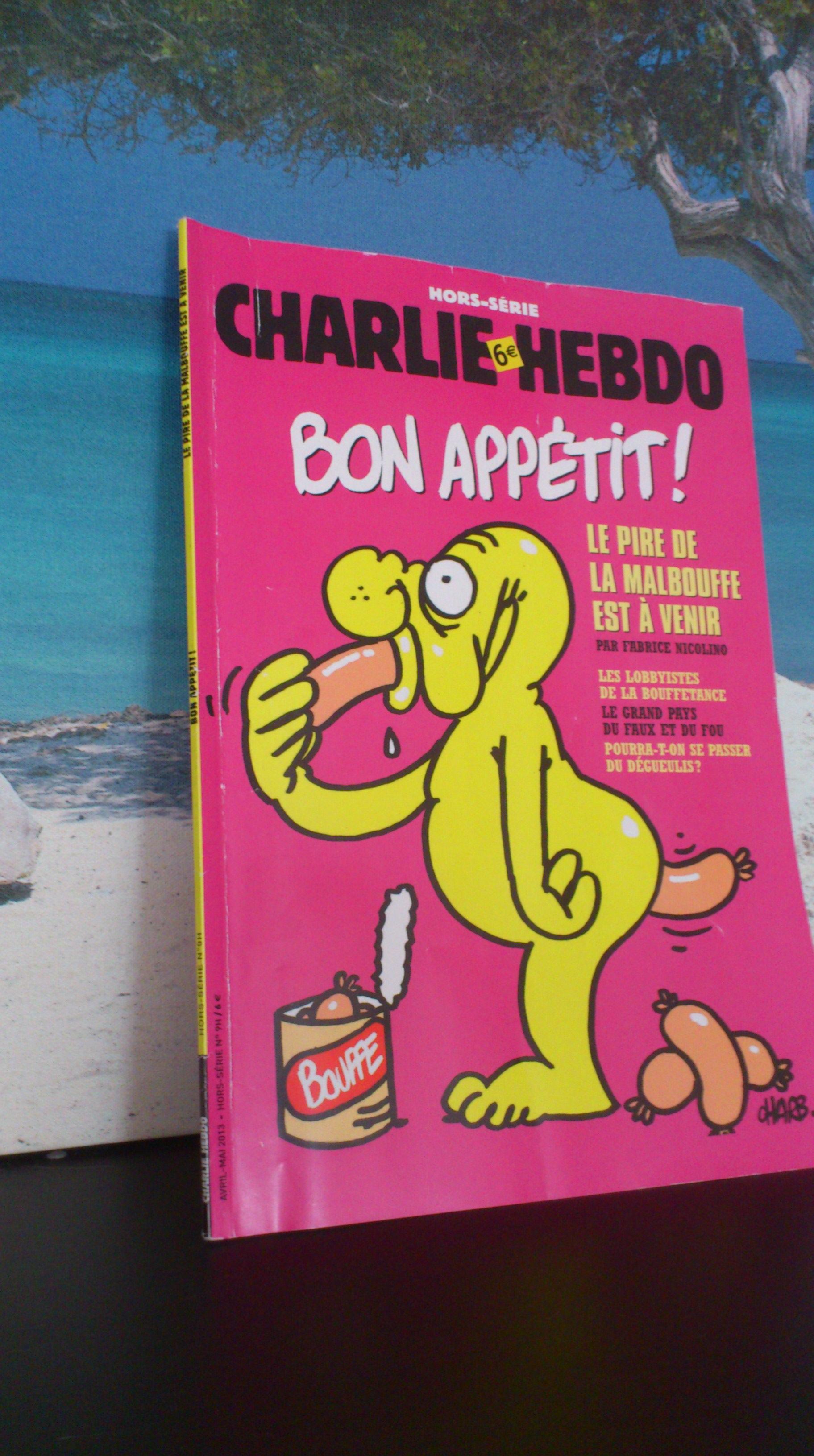 Charlie Hebdo bouffe