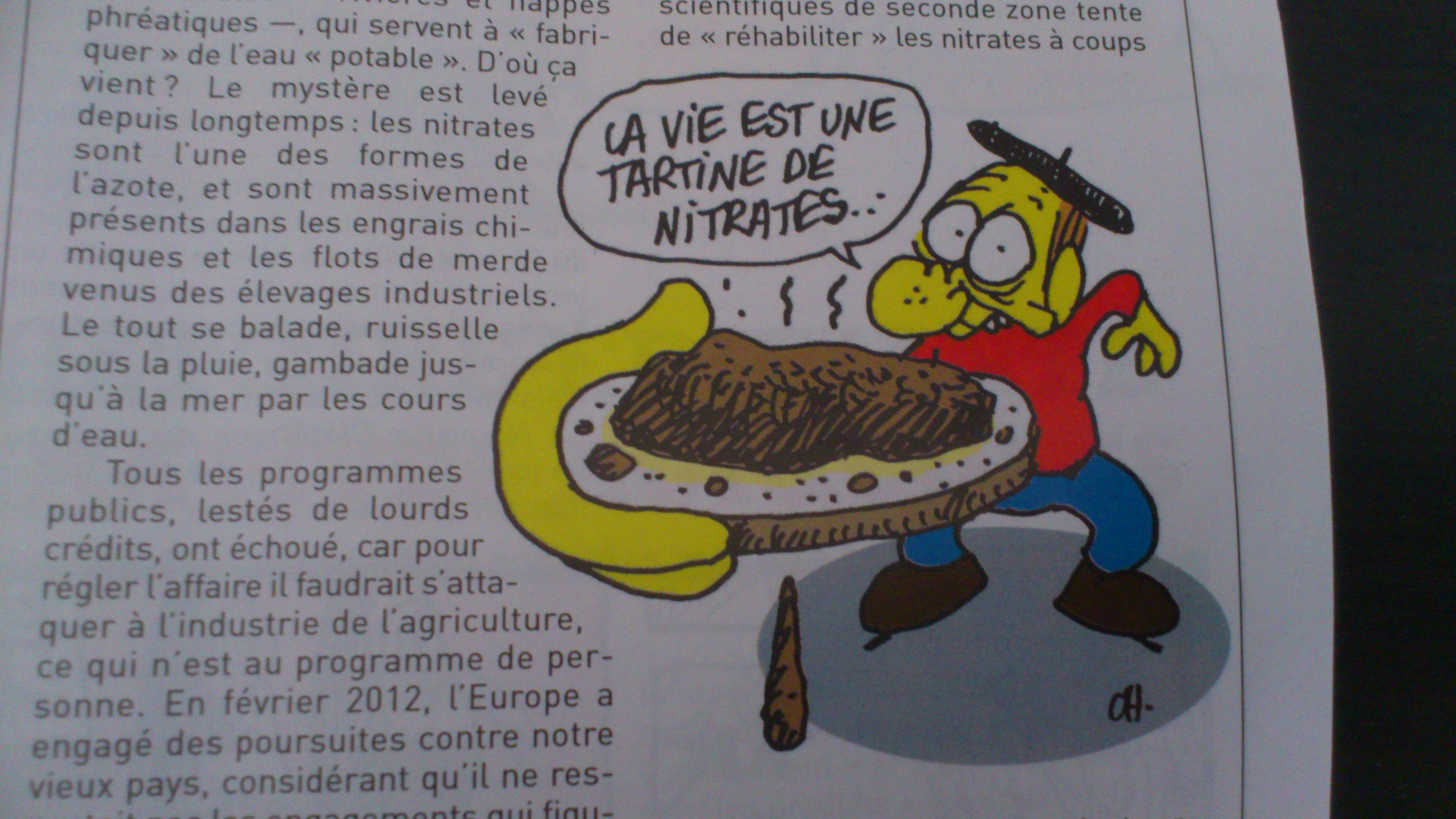 Charlie Hebdo alimentation