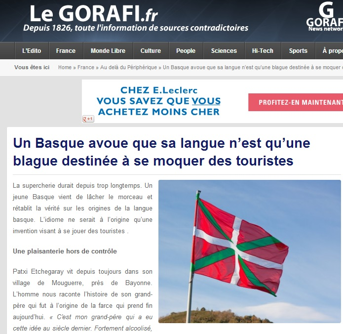 Gorafi basques