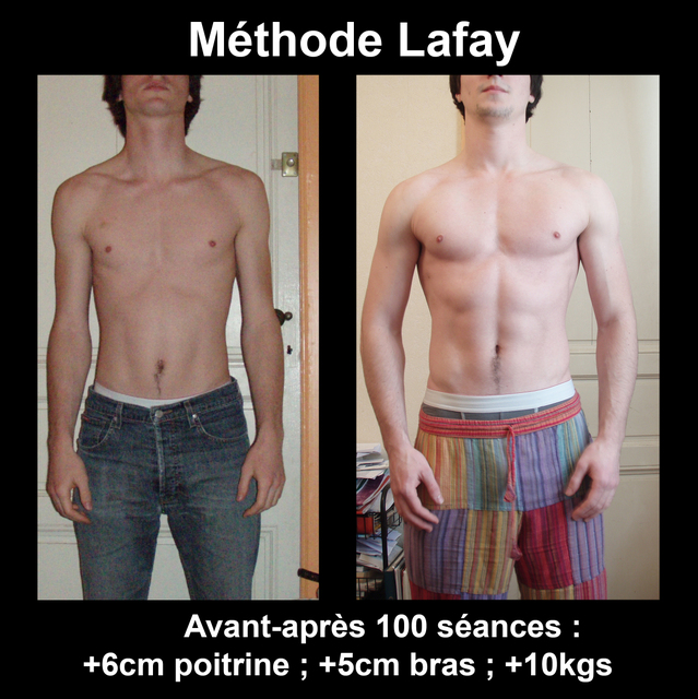 photo methode musculation lafay