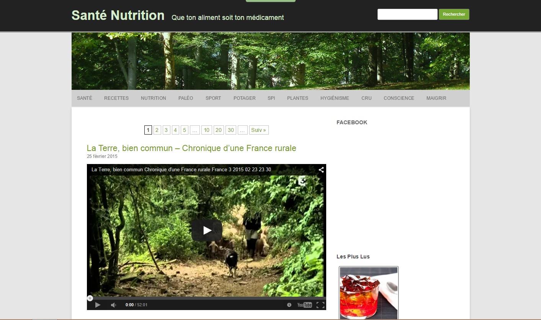 Site Santé Nutrition